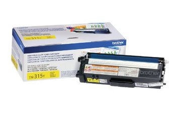 Brother High Yield Yellow Toner Cartridge 3.5K pgs