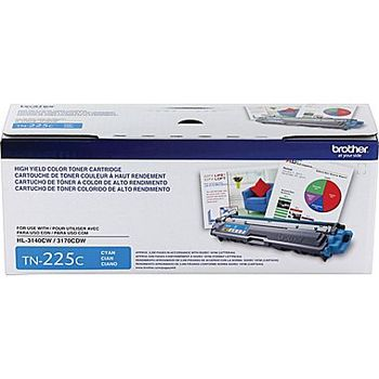 Brother Toner Cartridge - Cyan - Laser - 2200 Page - 1 Each TN225C